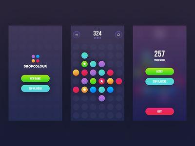 DropColour game
