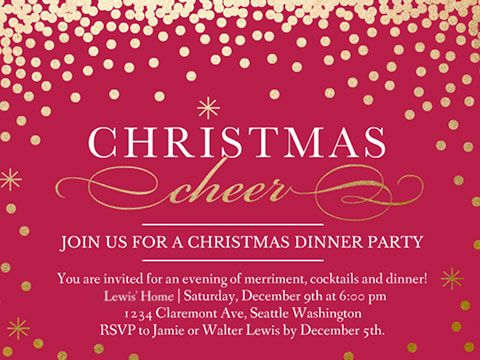 free christmas party invite templates - Onwebioinnovate