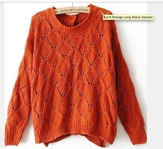 de gran tamaño suéter de gran tamaño abuelo suéter caída adorable del vintage óxido otoño