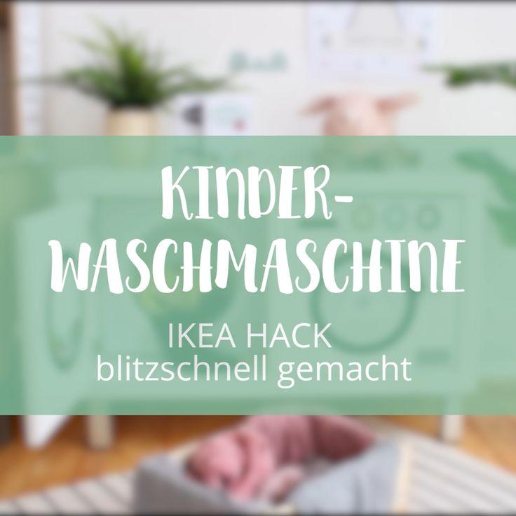Kinder Waschmaschine DIY
