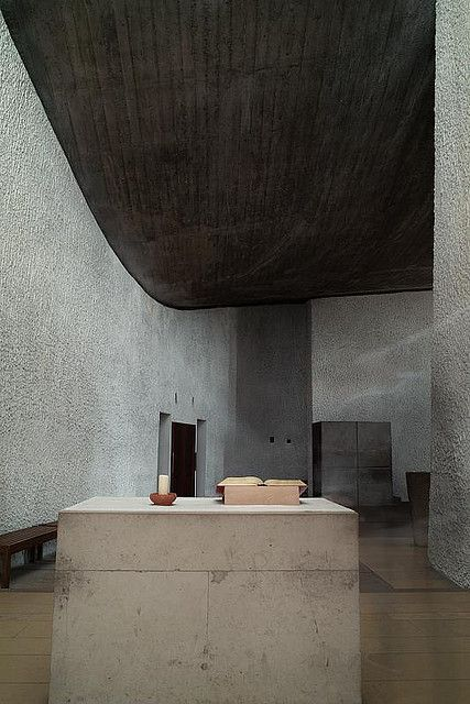 Le Corbusier Notre Dame du Haut Ronchamp Chapel France by mb17chung, via Flickr