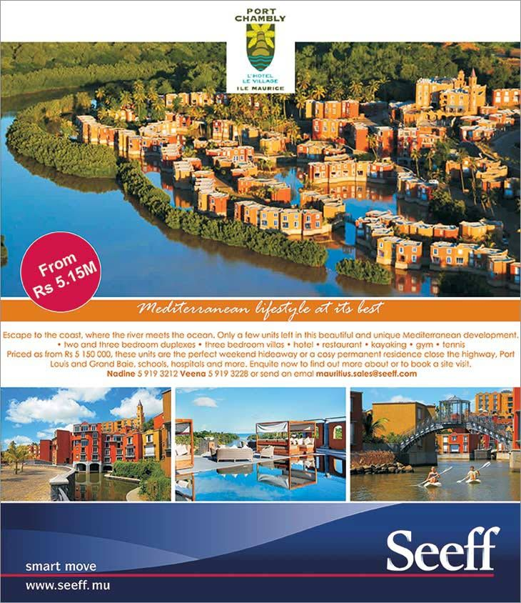"Seeff is selling ""Mediterranean lifestyle at its best"". Tel: 263 2192"