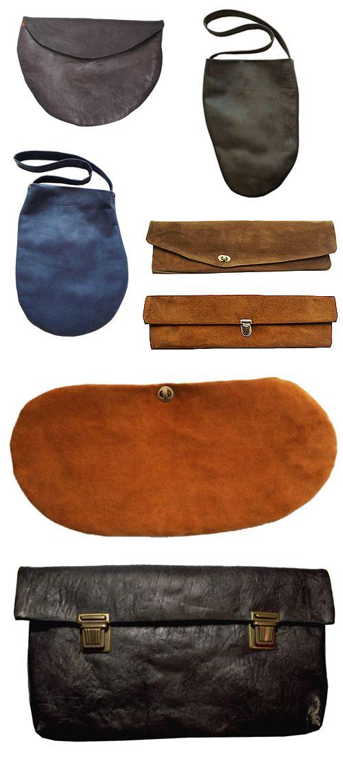 leather bags by Nutsa Modebadze.