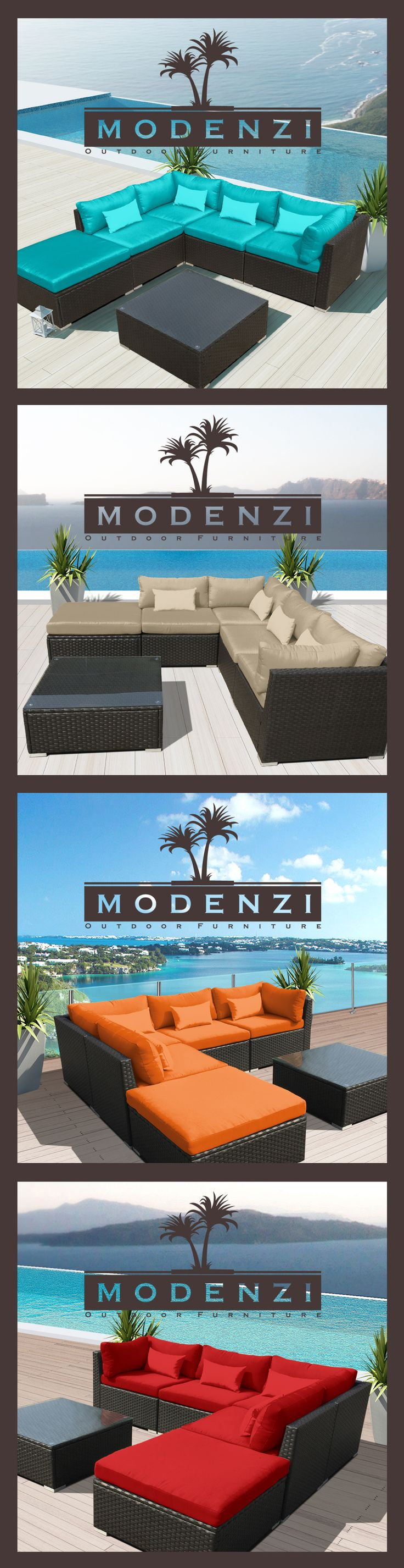 $479+99 6pc Outdoor Patio Furniture Sectional Rattan Wicker Sofa Chair Couch Set Chaise 5 Colors,ALUMINUM Frame not STEEL,2Bassembled MSRP$1799
