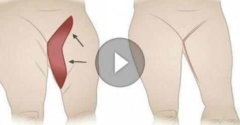 Лучшие упражнения, чтобы убрать жировые отложения с внутренней поверхности бедра! | Khitrosti