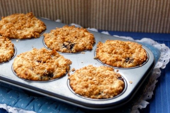 Low Fat Lemon Blueberry Oat Muffins | Muffins, Scones, Breads AND MOR ...