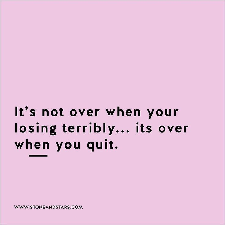 it´s not over ...