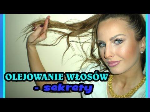 Olejowanie włosów - sposób na piękne, zdrowe, lśniące włosy • pielęgnacja włosów - YouTube