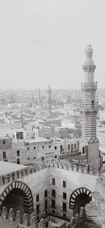 From Mosque of Ibn Tulun. Cairo, Egypt 1900-1920.