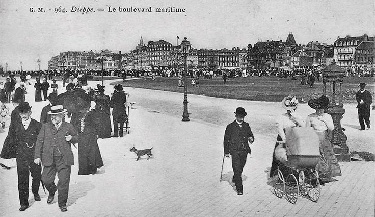Watering places of Normandy – more from Cook's invaluable 1883 handbook – Normandy Then and Now