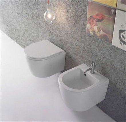 sanitari bagno sospesi 4336 particolarmente comodi e soprattutto poco sporgenti dopo installati solo 43 cm