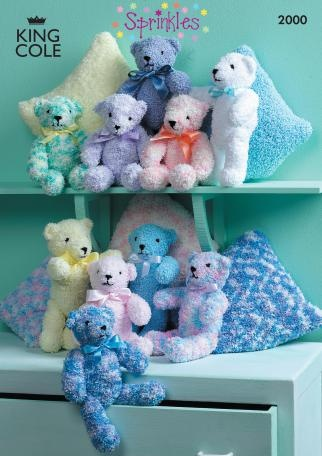 King Cole Teddy Bear Knitting Pattern : 70 best images about knitted toys on Pinterest Free pattern, Knit patterns ...