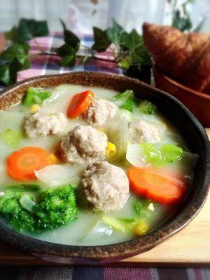 あつあつを食べたい!美味しい具材でつくるシチューレシピまとめ ... 美味しい具材でつくるシチューレシピ①:白菜と肉団子クリームシチュー
