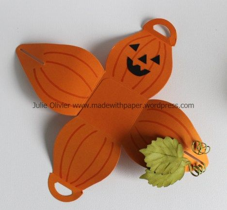 Halloween Treat Boxes with Curvy Keepsake Box Thinlits Dies