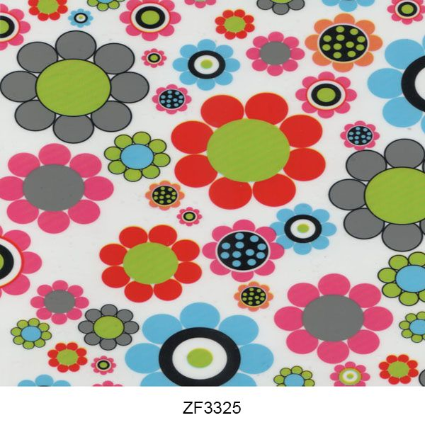 Hydro printing film flower pattern ZF3325