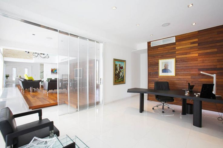 asian office decor | minimalist home office design (3 pictures