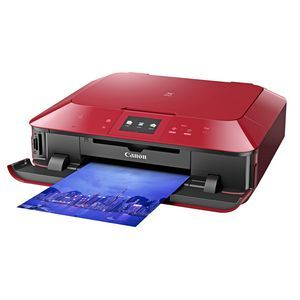 Canon PIXMA MG7160 Colour Inkjet Multifunction Red | Officeworks