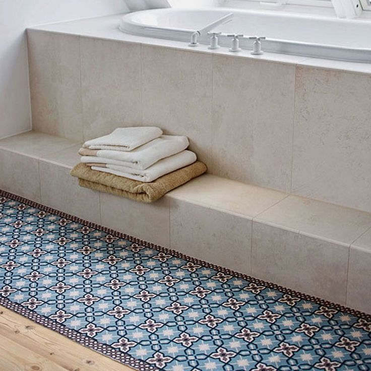 Rug With Portuguese Style Tiles For The Garden And Bathroom In 2020 Style Tile Tiles Beautiful Tile