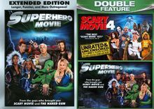 Scary Movie 4 [Unrated]/Superhero Movie [Extended Edition] [2 Discs] [DVD]