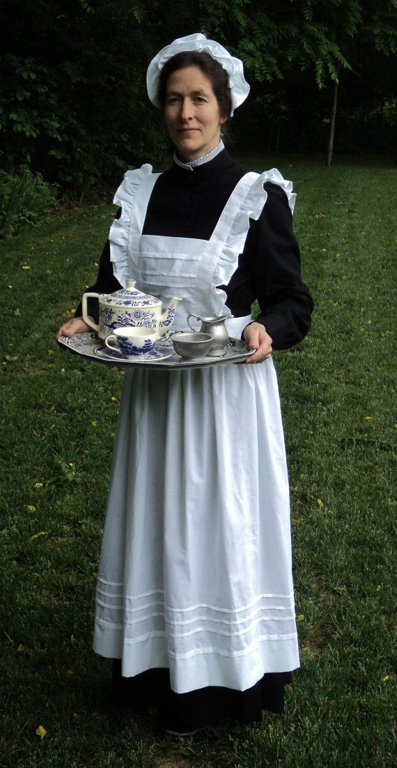71 Best Maid Aprons Images On Pinterest Aprons Maid And