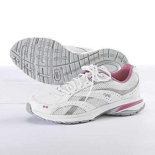 Zapatillas para caminar RYKA Women's Dash 3, gris / rosa, 6.5 M US