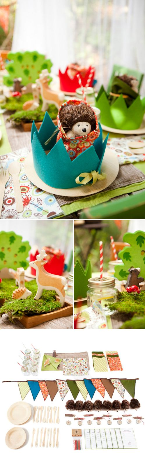 Forest Theme Party: Kids Parties, Woodland Parties, Birthday Parties, Paper Bags, Theme Parties, Replica Handbags, Forests Theme, Parties Ideas, Baby Shower