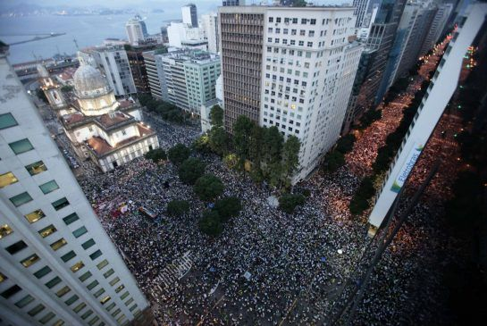 Brazil protests: More than half a million take to the streets one week after protests started