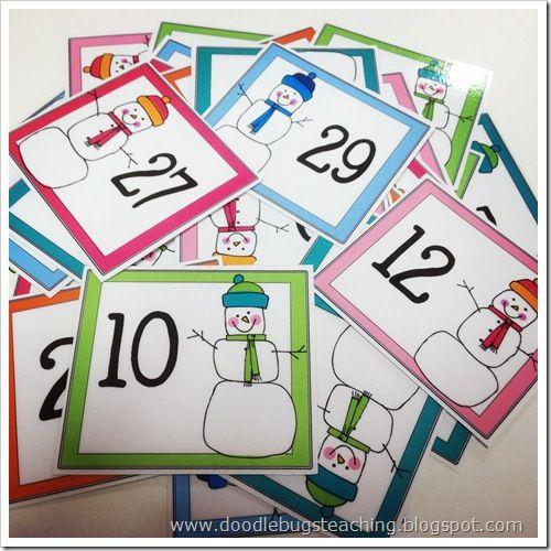 Kindergarten January Calendar : Best ideas about calendar numbers on pinterest