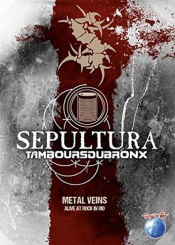 """Il DVD dei #Sepultura intitolato """"Metal veins - Alive at Rock in Rio"""" raccoglie la registrazione dell'esibizione della band al festival Rock In Rio 2013."""