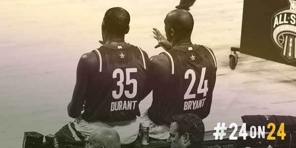 Kevin Durant (@KDTrey5) | Twitter----with Kobe