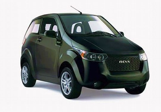 Reva Electric Car In India