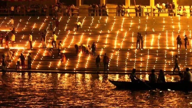 Dev Diwali festival Varanasi India 2017 - 2018 Dates - The Festival of Lights