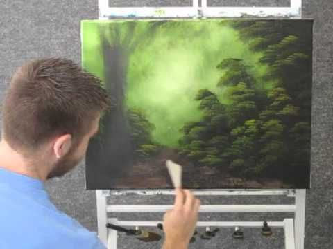 Paint with Kevin Hill - Unedited Old Tree - YouTube