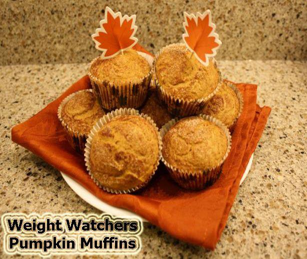 Weight Watchers Pumpkin Muffins - Weight Watchers Food Points Blog