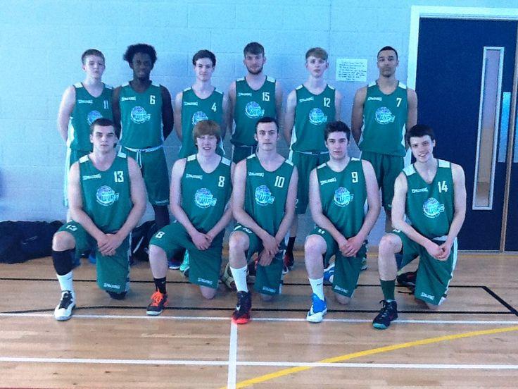 U18's Northern Premier League winners 2014 Basketball