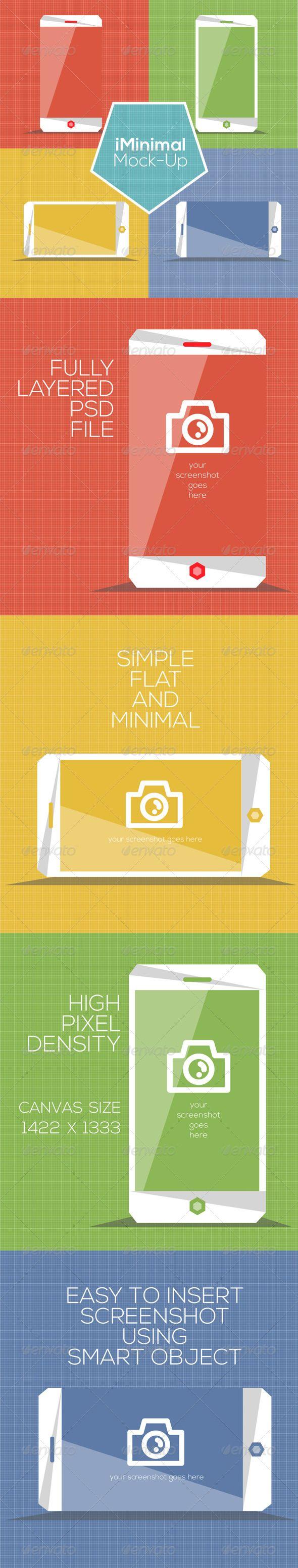 iMinimal iPhone Mock Up