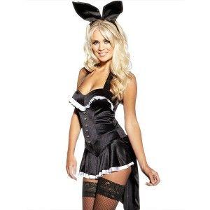halloween women new cosplay costume tuxedo playboy bunny tail showgirl dress - Halloween Costume Playboy Bunny