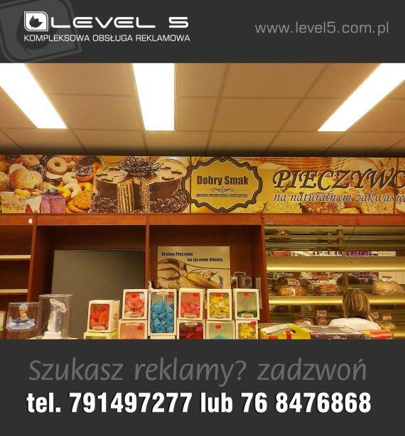 Oznakowanie sklepów Lubin, Polkowice, Legnica, Głogów, Jawor, Chojnów, Chocianów - 791 49 72 77