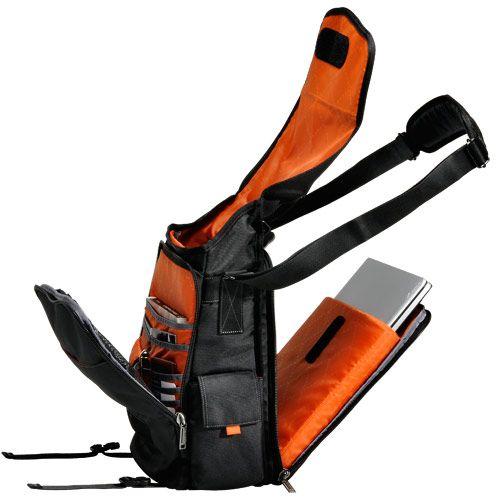 "Everki Urbanite Checkpoint Friendly Laptop Vertical Messenger Bag | Laptop Messenger Bags | Cool Laptop Bags | 18.4"" Laptop Bags, Backpacks, Briefcases"