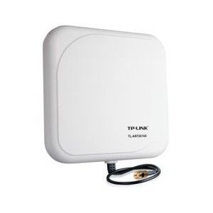 Buy new TP-LINK TL-ANT2414A - TP-LINK - TL-ANT2414A : TP-Link WLAN-Ant. 2 4GHz 14dBi Outdoor from verybasics_store with basic delivery. We have extensive range of TP-LINK  including variation of TL-ANT2414A  www.verybasics.com/tp-link-2-4ghz-14dbi-outdoor-directional-panel-antenna-1m-rp-sma-connector.html