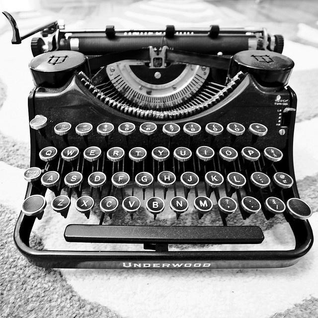 my next tattoo! <3 typewriters