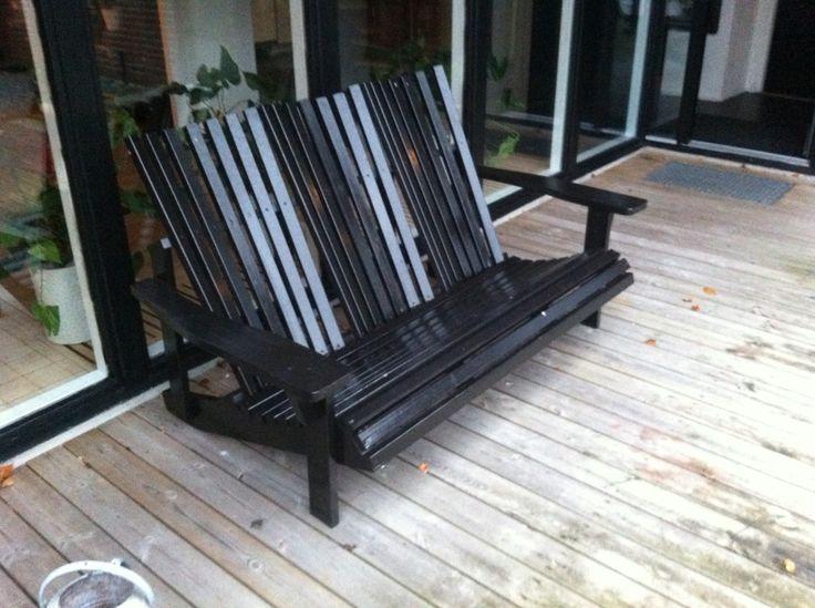 3 personers adirondack sofa til terrassen alle mulige stole pinterest. Black Bedroom Furniture Sets. Home Design Ideas