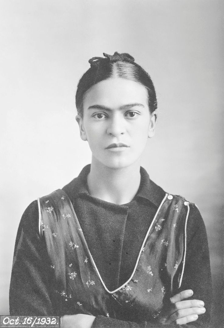 Frida kahlo s father guillermo kahlo captured this portrait on oct just months after the mexican painter suffered a miscarriage at henry ford hospital in