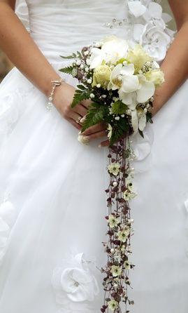 Vines, Cascading Bridal Bouquet  