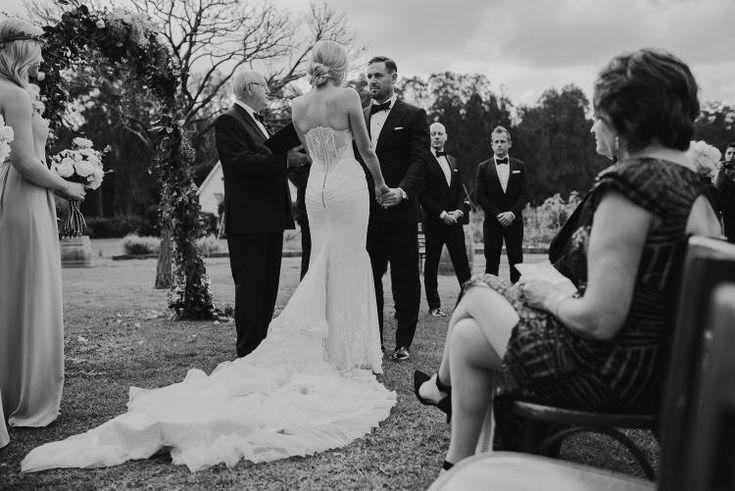 Brooke Cullen & Leith Testoni's Hunter Valley Wedding on The LANE / Justin Aaron Photography (instagram: the_lane)
