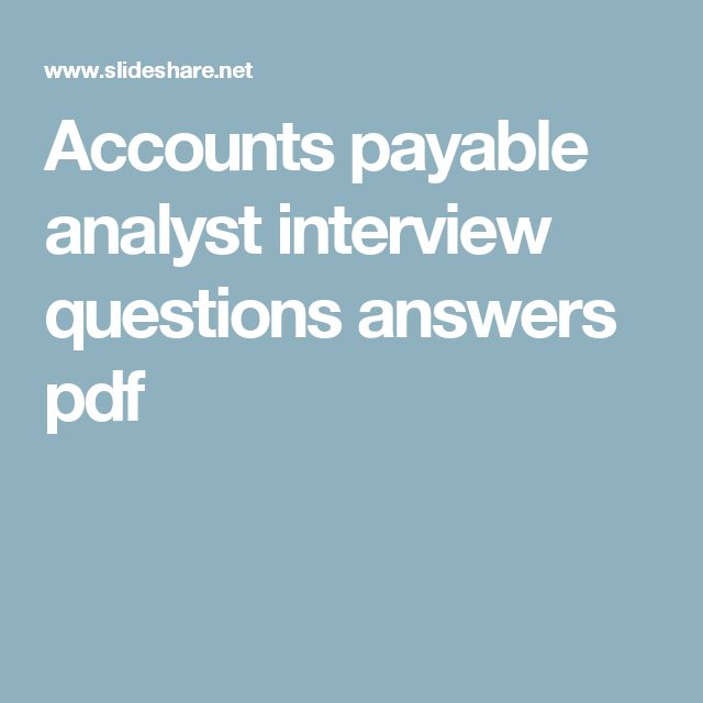 The 25+ best Accounting interview questions ideas on Pinterest - accounting interview questions