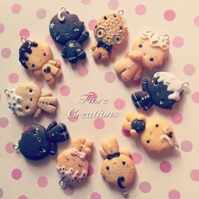 #kawaiiclay #cute #sweet #kawaiigingerbread #zenzyfimo #zenzyclay #ominobiscottofimo #fimo #creazionifimo #fiorecreations #fiore98j #handmadeclay #kawaii #gingerbread #gingerbreadclay