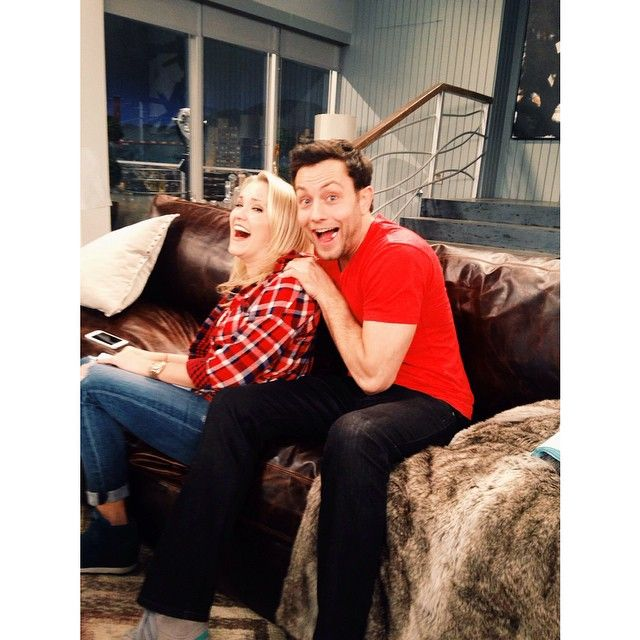 Emily Osment and Jonathan Sadowski are so excited to be back on the set of Young & Hungry.