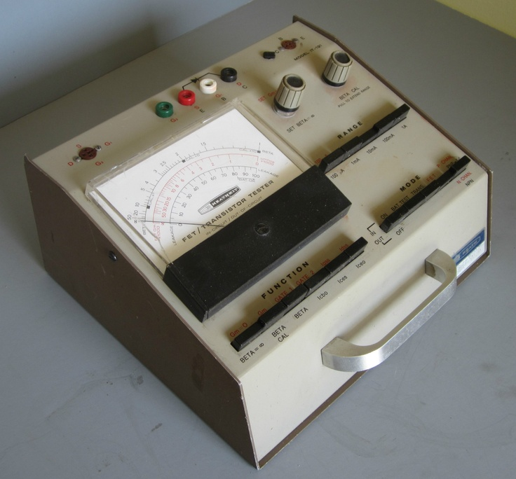 17 best images about heathkit on pinterest radios Transistor Circuits Projects Transistor Tester Schematic
