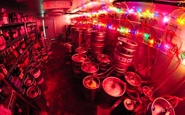 Just a few Kegs :) Olympic Tavern-Rockford, IL
